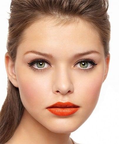 Orange lipstick personality