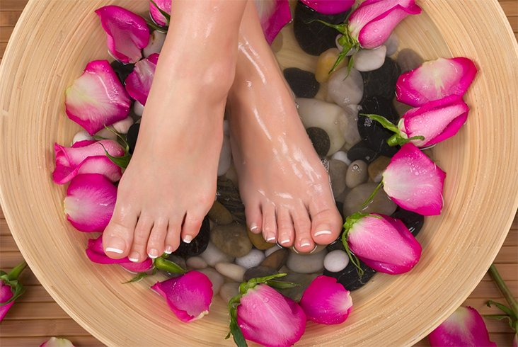 Home recipes for DIY pedicures
