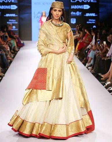 Ritu Kumar collection at LFW 2015