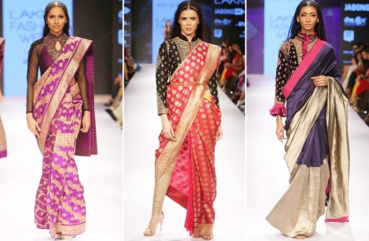 Ritu Kumar saree designs