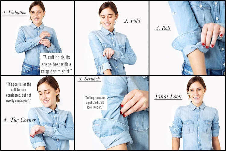 Roll Up Your Sleeves Tutorial