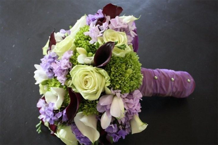King Arthur Rose Wedding Bouquet