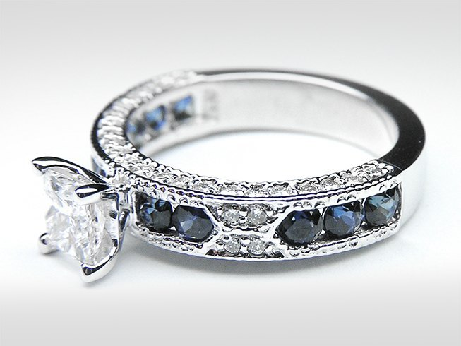 Sapphire engagement ring designs