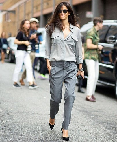 Shades of grey fashion ideas