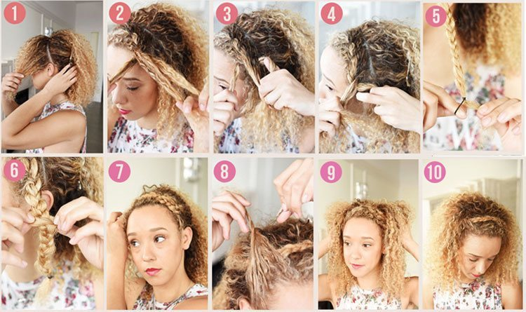 simple braids hairstyles