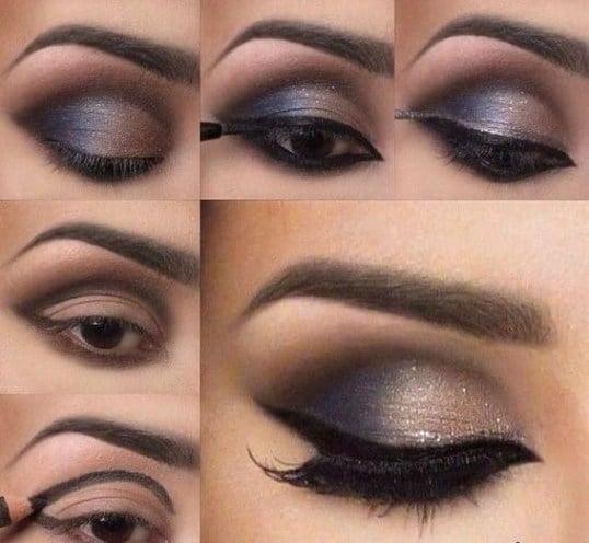 smokey eye look tutorial