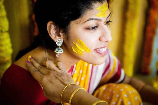 South Indian Haldi Ceremony