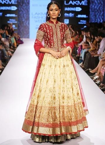 Varnasi weaves by Ritu Kumar