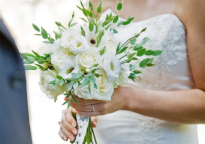 Wedding bouquets for bride