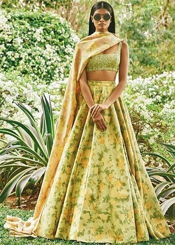 wedding bridal lehenga saris