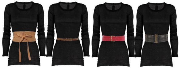 womens wide belts