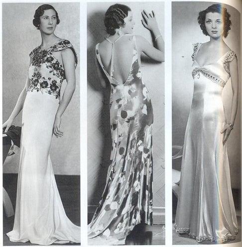 1930sCocktail Dresses