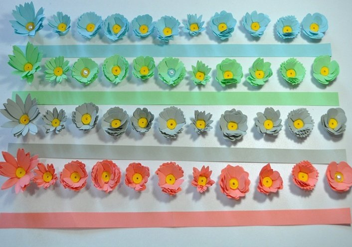 Paper quilling jewellery how to make jewellery by quilling for Quilling strips designs