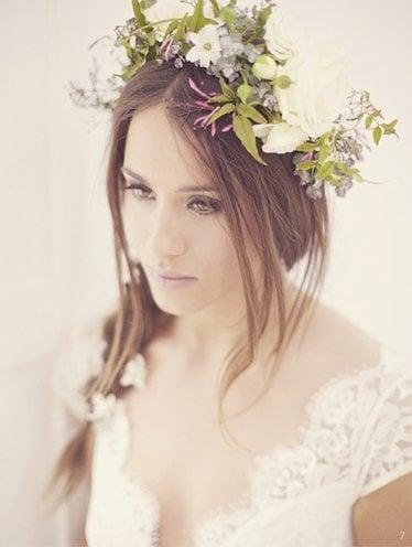 Best floral crown for Wedding