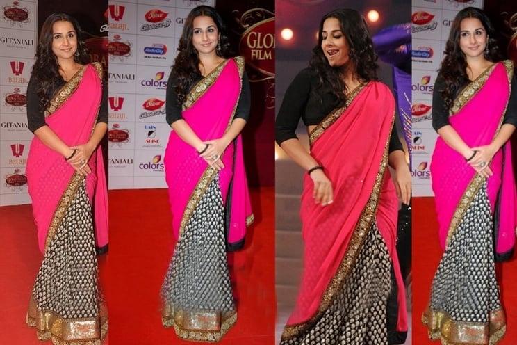 Bollywood actresses inBest Sabyasachi sarees