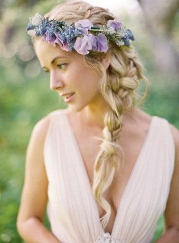 Braids Hairstyles Crowns for Weddings