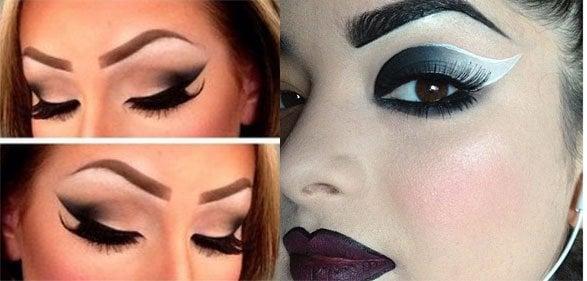 Chola Eye Makeup