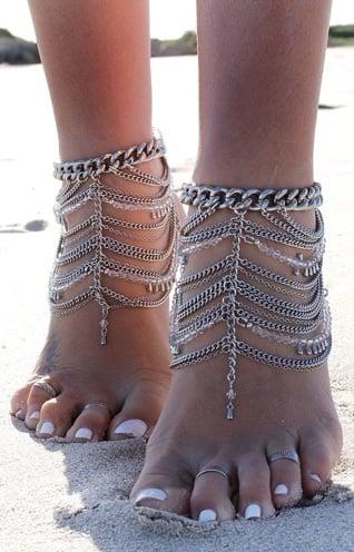 Chunky Anklet Patterns