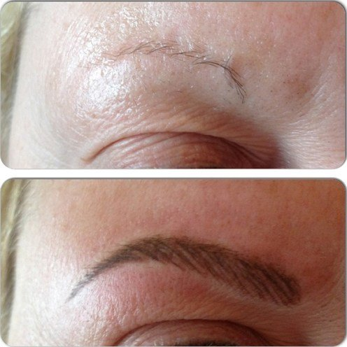 Eyes permanent makeup
