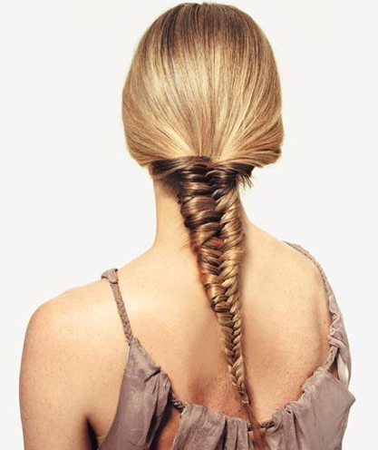 Hairstyles for fishtail braid