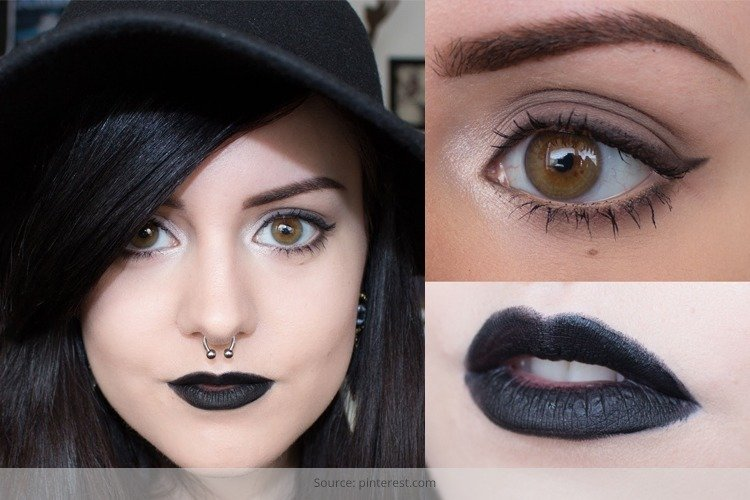 Halloween Makeup: How To Wear Black Lipstick
