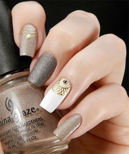 Nail Art Designs - 130 Easy And Beautiful Nail Art Designs 2018 Just For You