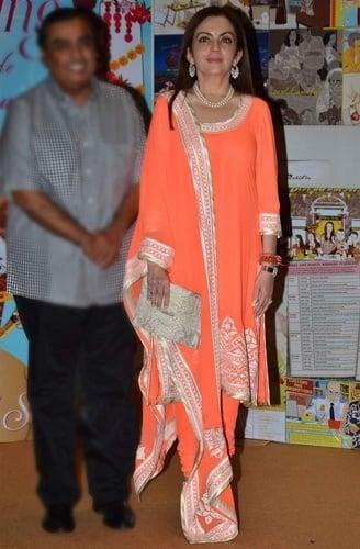 Nita Ambani At Sakshi Salve Book Launch