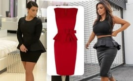 Peplum Dress Body Type