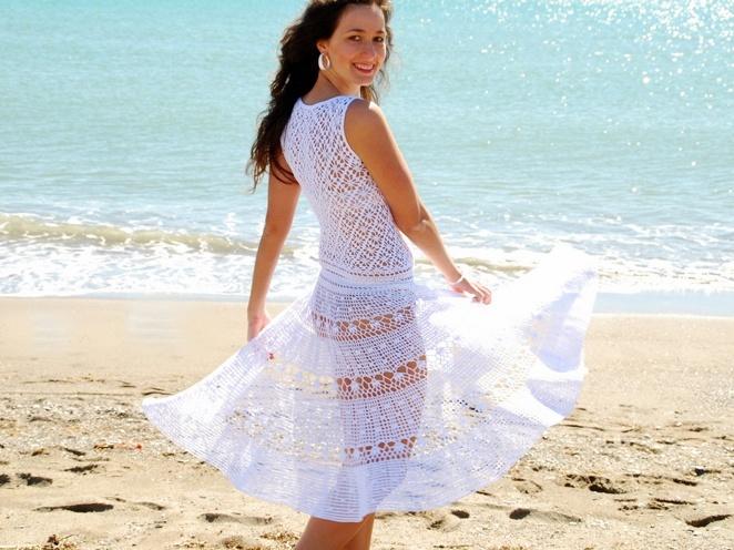 Popular crochet skirt patterns