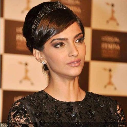 Sonam Kapoor Headband Hairstyle