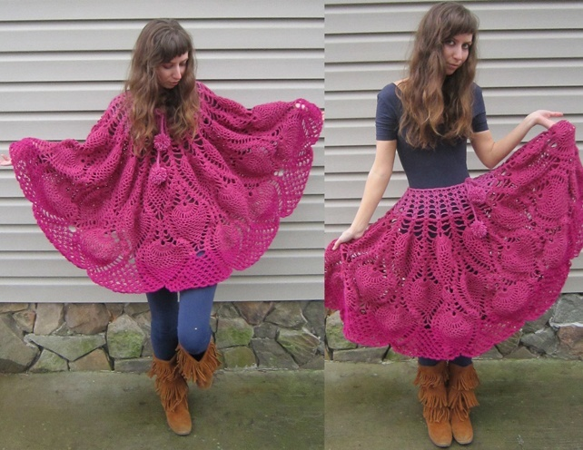 Unique Crochet Skirts