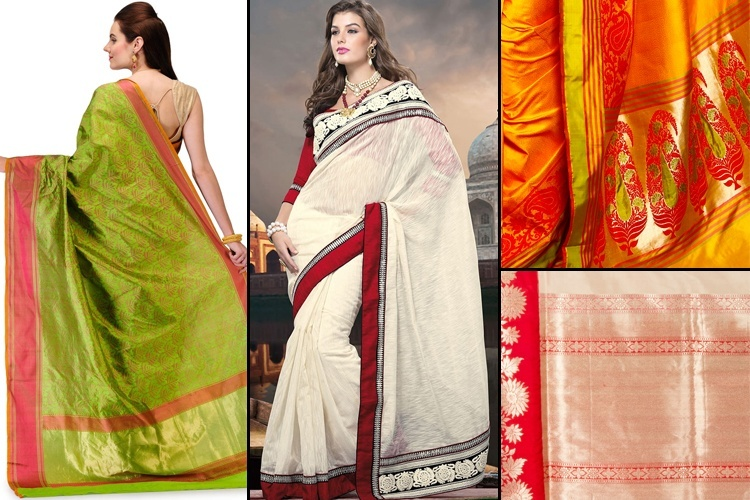 Banarasi Types Of Handloom Sarees