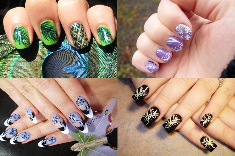 130 beautiful nail art designs just for you nail art designs prinsesfo Gallery