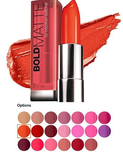 Bold Matte by Color Sensational Lip Color