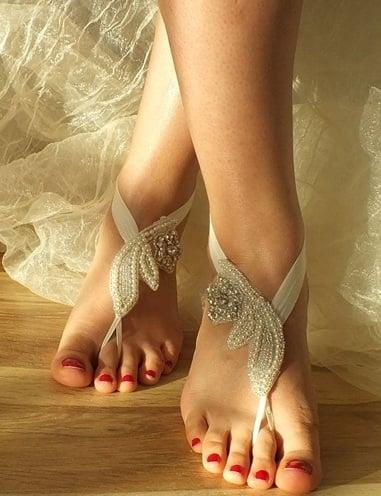 bridal anklets designs