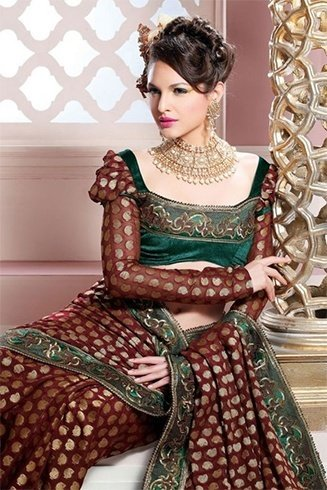 Bridal Saree Blouse Patterns