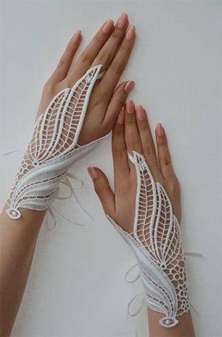 Chic Crochet Gloves