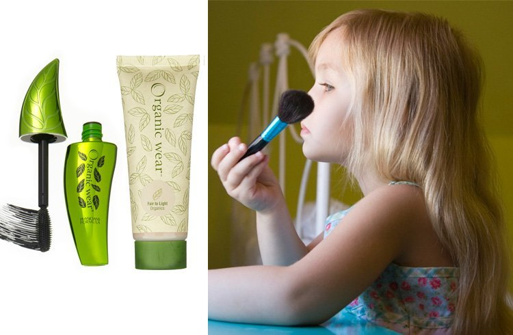 Child safe makeup