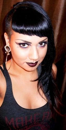 chola makeup tutorial