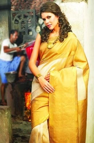 christian wedding saree collection