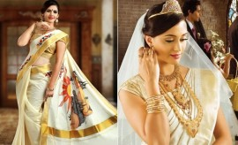 christian wedding sarees collection