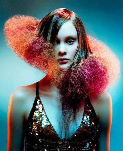 Craziest haircuts for women