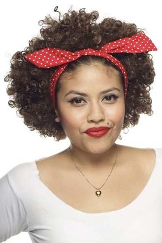 curly hair headbands