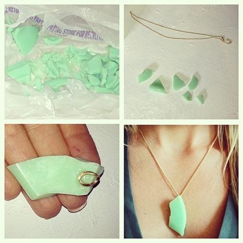 DIY recycled jewelry