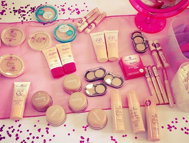 Essence beauty products