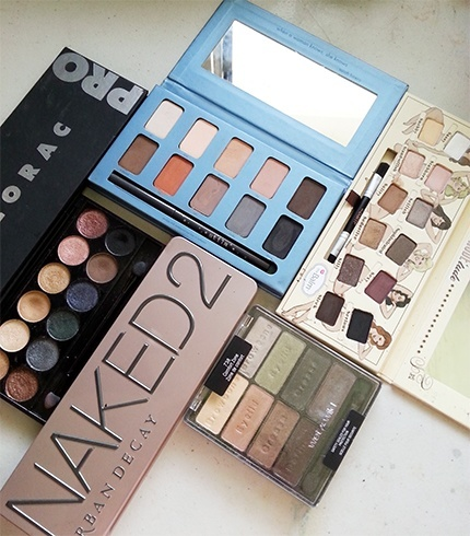 Eye shadow palettes in India