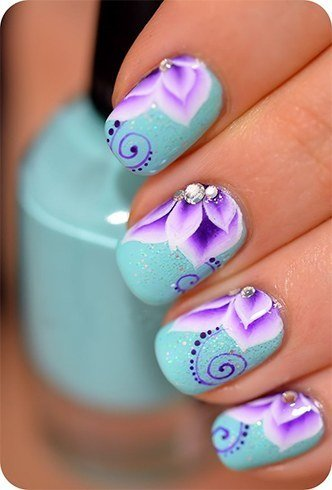 130 easy and beautiful nail art designs 2018 just for you professional designs prinsesfo Gallery