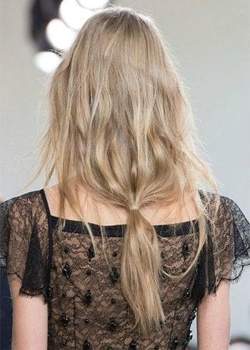 Probieren Sie diese einfachen Frisuren für glattes Haar