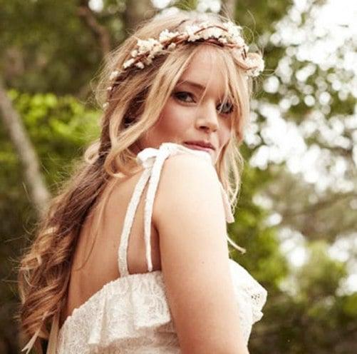 hair wreaths for wedding