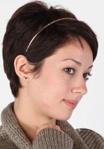 Hairstyles For Short Hair Using Headband : headband hairstyles